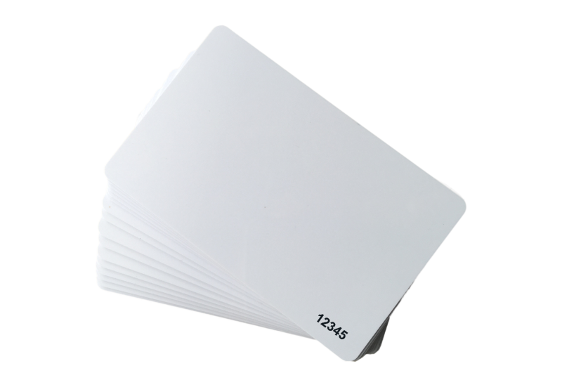 white RFID ISO card 26bit