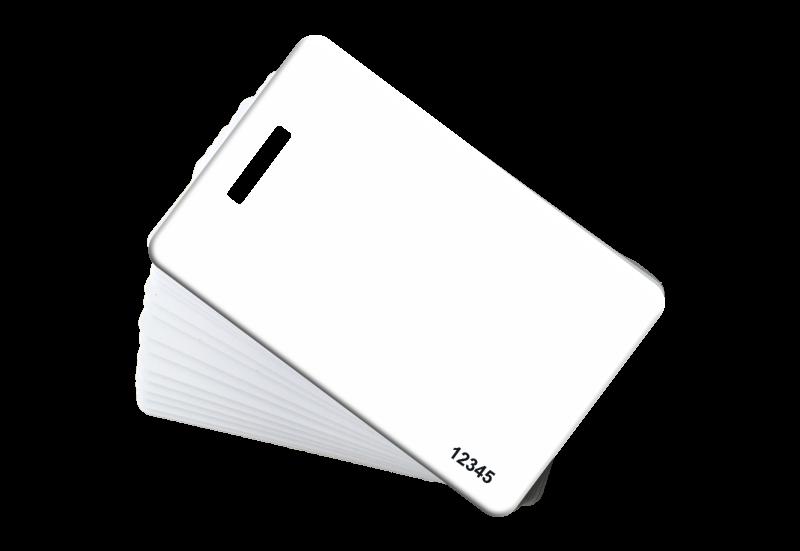 white RFID clamshell 26bit